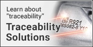 Learn about traceability Traceability Solutions