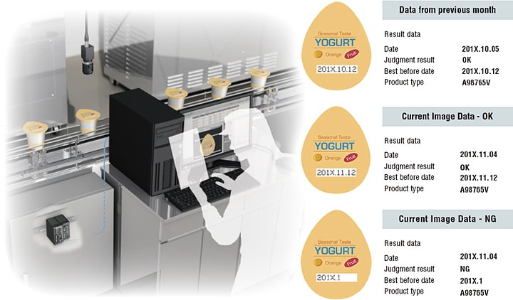 Machine Vision System Database CA-H1DB/CA-AD1 | KEYENCE America