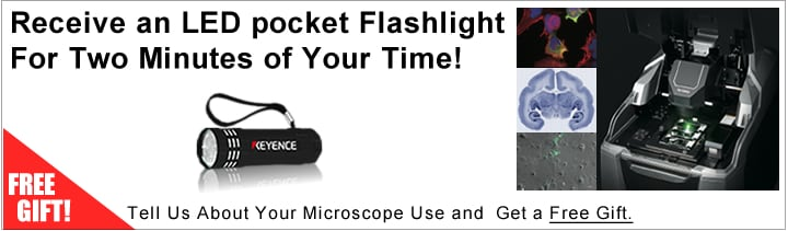 Receive an LED Pocket Flashlight for Two Minites of Your Time!