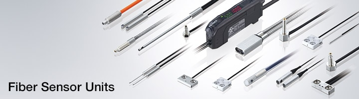 Wide range of fiber optic sensor heads for your application needs