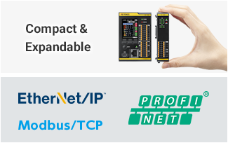 Compact & Expandable / EtherNet/IP™ / Modbus/TCP