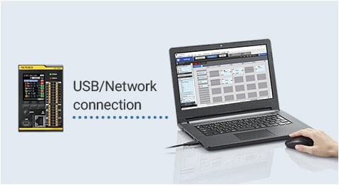 USB/Network connection