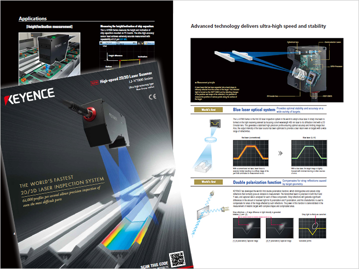 LJ-V Series Ultra-High Speed In-line Profilometer Catalog (English)