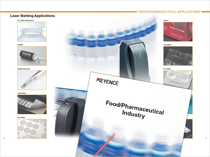 Introduction example of Laser marker [For Food, Pharmaceutical Industry] (English)