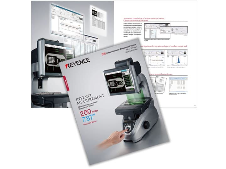 IM Series Image Dimension Measuring System Wide field of view type Catalog (English)