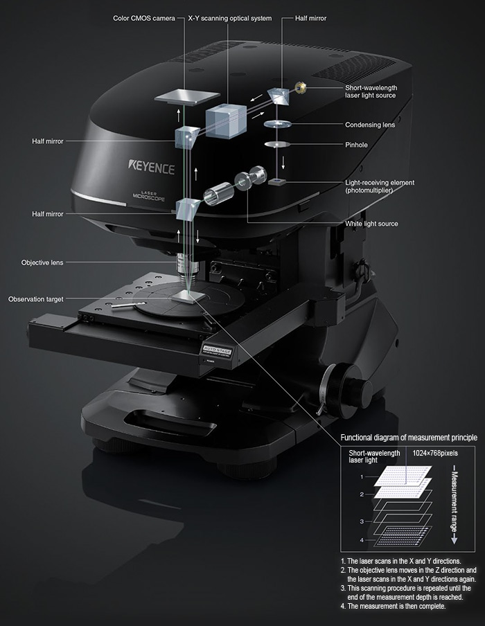 laser scanning confocal microscopes