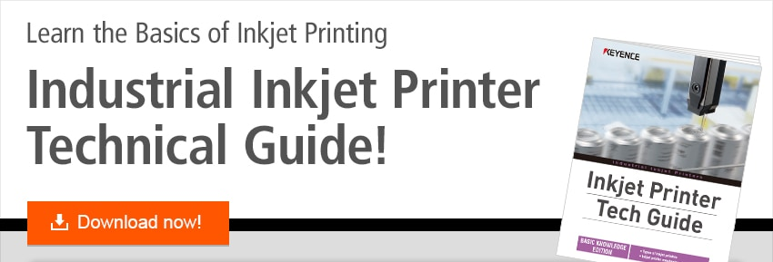 Learn the Basics of Inkjet Printing Industrial Inkjet Printer Technical Guide! Download now!