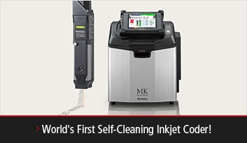 World's First Self-Cleaning Inkjet Coder!