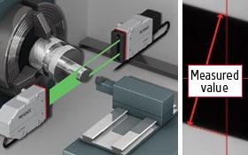 High Speed Optical Micrometer Ls 9000 Series Keyence