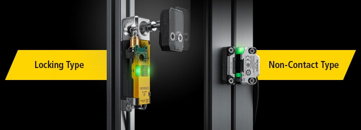 Topics 2019 : KEYENCE Announces New Safety Interlock Switch
