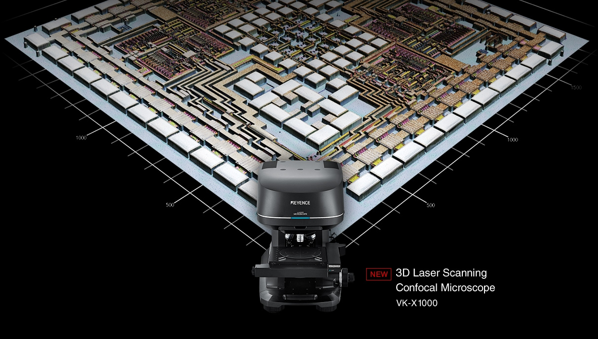 [NEW] 3D Laser Scanning Confocal Microscope VK-X1000