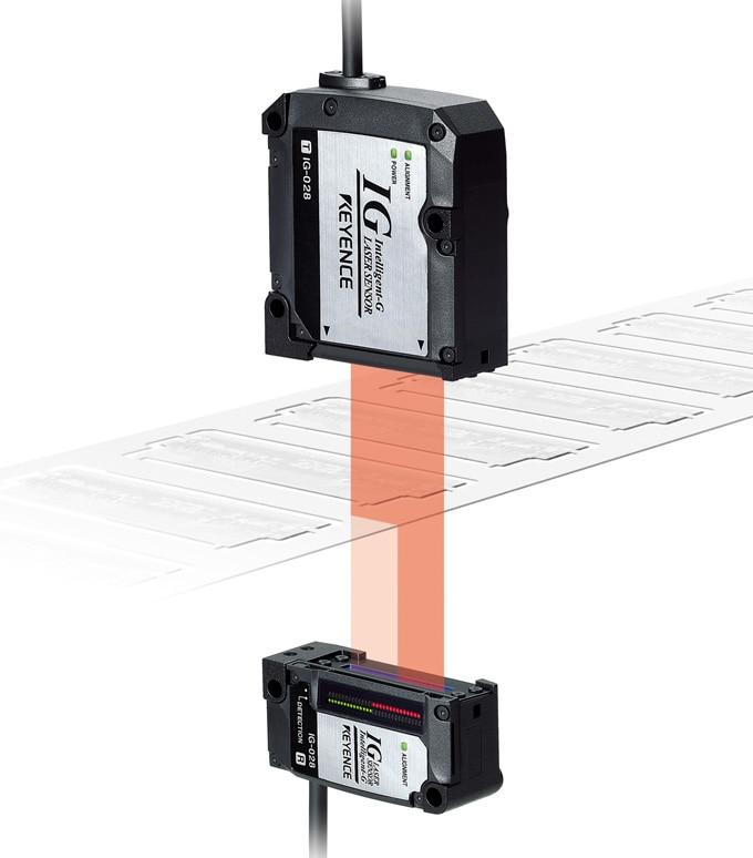 "What is a ""position"" recognition type laser sensor?   Sensor Basics"