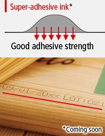 Super-adhesive ink