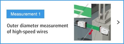 A-A- Measurement 1 Outer diameter measurement of high-speed wires