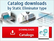 Catalog downloads by Static Eliminator type