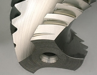 End mill surface observation