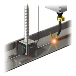 Example 4: Height control of welding torch