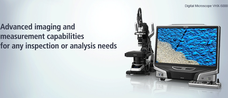 Advanced imaging and measurement capabilities for any inspection or analysis needs