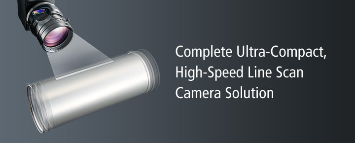 Complete Ultra-Compact, High-Speed Line Scan Camera Solution