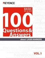 100 Questions & Answers about LASER MARKERS Vol.1 BASIC Q1 to Q12
