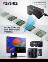 CV-X/XG-X Series Inline 3D inspection image processing system LJ-V connection-compatible Catalog