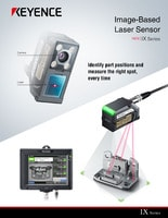 IX Series Image-Based Laser Sensor Catalog