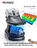 VL Series 3D Scanner CMM Catalog