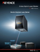 MD-X Series 3-Axis Hybrid Laser Marker Catalog