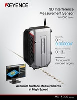 WI-5000 Series 3D Interference Measurement Sensor Catalog