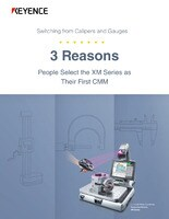 3 Reasons People Select the XM Series as Their First CMM