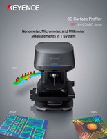 VK-X3000 Series 3D Surface Profiler Catalog