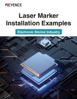 Laser Marker Installation Examples [Electronic Device Industry]