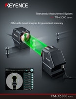 TM-X5000 Series Telecentric Measurement System Catalog