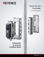 FD-G Series Clamp-On Gas Flow Meter Catalog