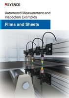Automated Measurement and Inspection Examples [Film, Sheet and Web]