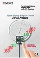 AP-30 Series Two-color Digital Display Pressure Sensor Catalog