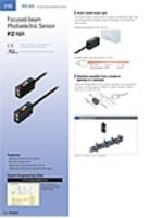 PZ-101 Series Built-in amplifier photoelectric sensors Catalog