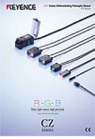 CZ Series RGB Digital Fiberoptic Sensors Catalog