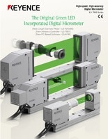 LS-7000 Series High-speed, High-accuracy Digital Micrometer Catalog