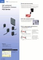 PZ2 Series Built-in amplifier photoelectric sensors Catalog