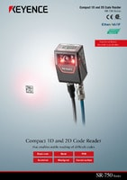 SR-750 Series High Performance Compact 1D and 2D Code Reader Catalog