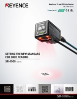 SR-1000 Series Autofocus 1D and 2D Code Reader Catalog