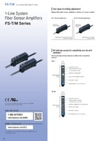 FS-T/M Series Digital Fiber Optic Sensors Catalog