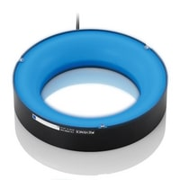 CA-DRB13M - Blue Round Multi-angle Light 130-86