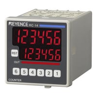 RC-13 - 48-mm□ 6-digit 7-segment LED, One-stage Preset, AC Power Supply