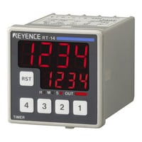 RT-13 - 48-mm□ 4-digit 7-segment LED, One-stage Preset, AC Power Supply