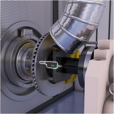 Disk runout measurement