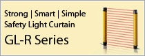 Strong | Smart |Simple Safety Light Curtain GL-R Series